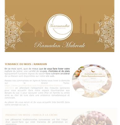 RAMADAN - Gourmandise